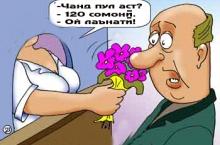 Наҷмиддини Шоҳинбод ва гулфурӯш