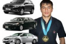 Нахустин медали Олимпии Тоҷикистон