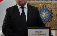 Номаи сипоси Равшанбек Собиров